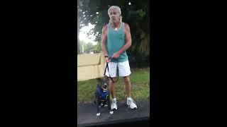 getlinkyoutube.com-Man caught  beating dog