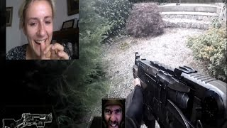 getlinkyoutube.com-Real Life First Person Shooter (Chatroulette version)