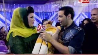 getlinkyoutube.com-برنامج عين - شاهد لأول مرة زوجة النجم سعد الصغير .. سعد الصغير يسمى ابنه على اسم النجم أحمد سعد