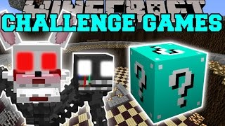 getlinkyoutube.com-Minecraft: MANGLE CHALLENGE GAMES - Lucky Block Mod - Modded Mini-Game