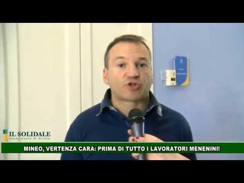"""Video: Vertenza Cara, Movimento """"Mineo nel cuore"""": PRIMA DI TUTTO I LAVORATORI MENENINI"""