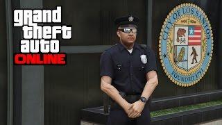 getlinkyoutube.com-GTA 5 Online - How to Get the Police Uniform After 1.26/1.28