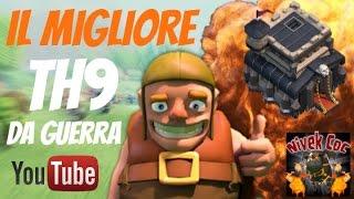getlinkyoutube.com-Clash of Clans - Il Migliore TH9 DA GUERRA | Zank