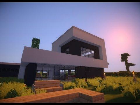 Minecraft modern house #8 (Modernes Haus) [HD]