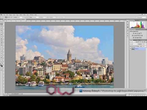 Photoshop Ders : Yağlı Boya Efekti Oluşturuyoruz