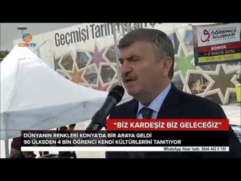 60 Ülkeden 4 Bin Öğrenci Konya'da Buluştu