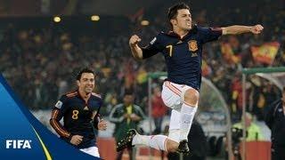 Villa, Iniesta goals too good for Chile