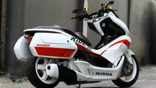 getlinkyoutube.com-Honda PCX150 Scooter Review Modification