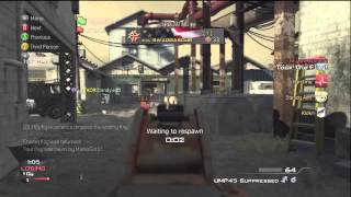 Finals Week and Study Tactics Part 1 - MW3 Gameplay Commentary