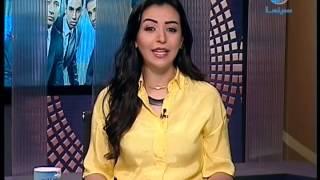 """getlinkyoutube.com-#عرب_وود : ياسمين نيازى تنتهي من تسجيل أغنيتها الجديدة """"عاند وكابر"""""""