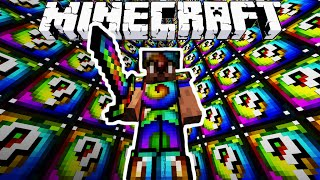 getlinkyoutube.com-Minecraft SPIRAL LUCKY BLOCK WALLS with The Pack