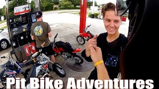 Pit Bike Adventures   EP 24 // Finding New Spots!