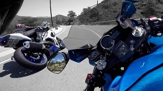 getlinkyoutube.com-Suzuki GSX-R 1000 Vs Everyone