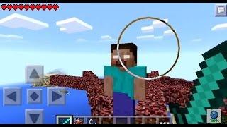 getlinkyoutube.com-Minecraft PE | How to Spawn the Herobrine