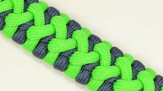 "getlinkyoutube.com-Make the ""Side Step"" Paracord Survival Bracelet - BoredParacord.com"