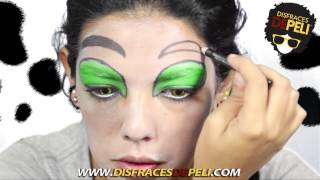 getlinkyoutube.com-Tutorial de Maquillaje - Cruella de Vil