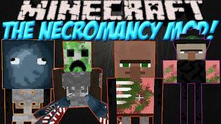 "getlinkyoutube.com-Создай свою армию мобов в Minecraft!Обзор мода Minecraft #79 ""The Necromancy"""
