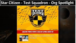 getlinkyoutube.com-TEST SQUADRON - Star Citizen Organization Spotlight - Glorious Leader Montoya
