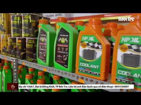 Mừng khai trương NPoil Bến Tre tin nhanh qua báo Tuổi Trẻ Oniline TV