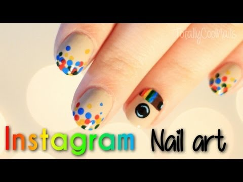 Instagram Nail Art | TotallyCoolNails