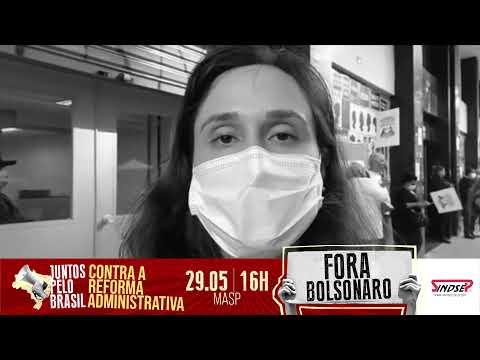 Juliana Salles, dirigente do Simesp e CUT-SP, diz porquê estará no ato #ForaBolsonaro