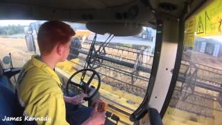 getlinkyoutube.com-Harvest 2015 - Combining Barley