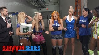 The SmackDown Women's squad is in turmoil after losing at Survivor Series: Exclusive, Nov. 19, 2017