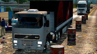 getlinkyoutube.com-Euro Truck 2 Brasil: EAA Mapa - Manifestação na rodoviária