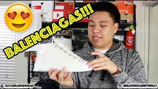 BALENCIAGA ARENA HIGH 'BLANC CLAIR' REVIEW!!!
