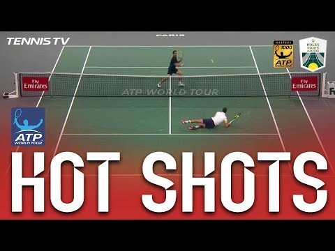 Hot Shot: Gasquet Floors Paire In Paris 2017