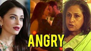 Jaya Bachchan Calls Aishwarya Rai SHAMELESS   Hot Scene Ae Dil Hai Mushkil