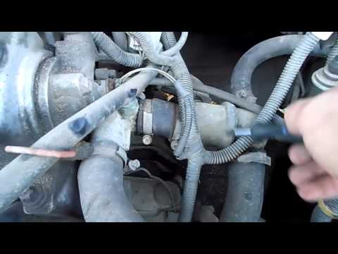 Замена термостата ВАЗ (продолжение)