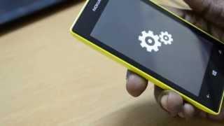 How to reset Nokia Lumia 520 to Factory Settings