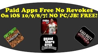 getlinkyoutube.com-[New]How To Get Paid Apps Free Permanently On iOS 10/9/8/7! NO PC/JB!