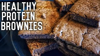 Healthy Protein Brownies | Easy Low Carb Recipe
