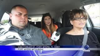 Gaby Romero sigue retando a la gente con los vehículos Mitsubishi