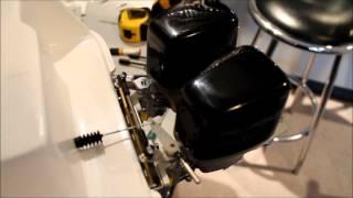 getlinkyoutube.com-RC Boat steering for Dual Outboard Motors.