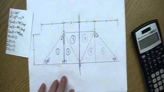How to solve a truss: Step-by-step Video 1