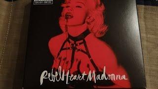 getlinkyoutube.com-Madonna - Rebel Heart (Super Deluxe Edition) - Unboxing