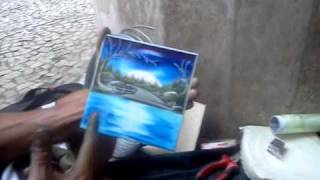 getlinkyoutube.com-Venâncio Pintura em Azulejo