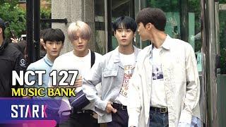 NCT 127, MUSIC BANK (NCT 127, 팬들과 눈치게임 같은 출근길)