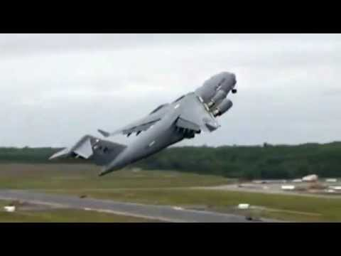 Boeing C-17 Globemaster Crash B-52 Jet Crash All Hell Breaks