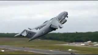 Boeing C-17 Globemaster crash B-52 Jet Crash All Hell breaks loose video width=