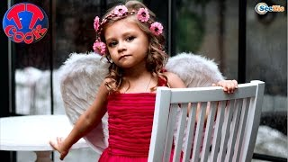 getlinkyoutube.com-Ярослава в роли Ангела на Фотосессии. Видео для девочек. Фото для детей. Tiki Taki Cook