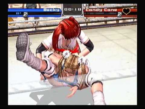 Rumble Roses - Candy Cane Humiliation Move Reversal Compilation