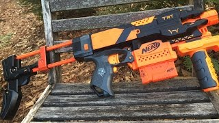 Nerf Mod: The Nerf TNT-SMG (An overhauled XD Stryfe commission)