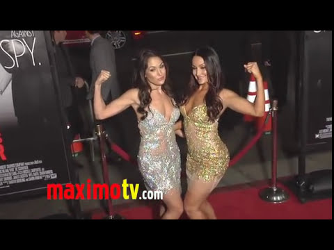 The Bella Twins - WWE TWIN Divas - This Means War Premiere Arrivals