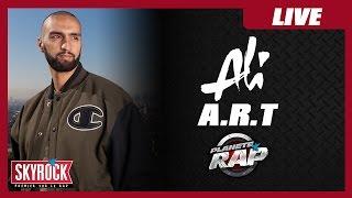 Ali : ''Art'' En Live Dans Planète Rap