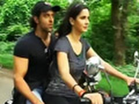 Katrina Kaif takes Hrithik for a ride!