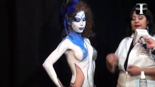 getlinkyoutube.com-Personalidad e Imagen. Face Body Paint